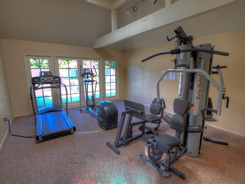 Equipment in Fitness Center